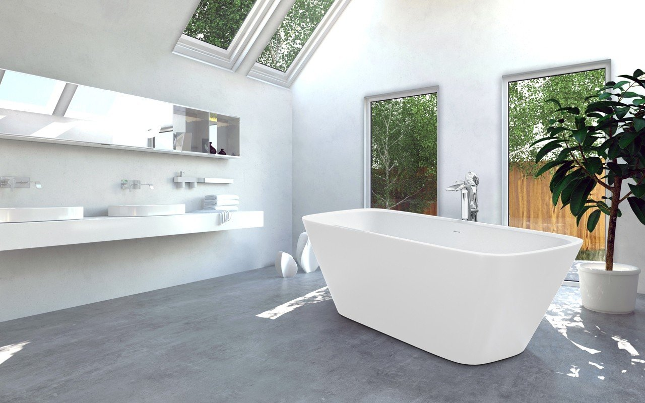 Arabella Wht Freestanding Solid Sureface Bathtub web (3)