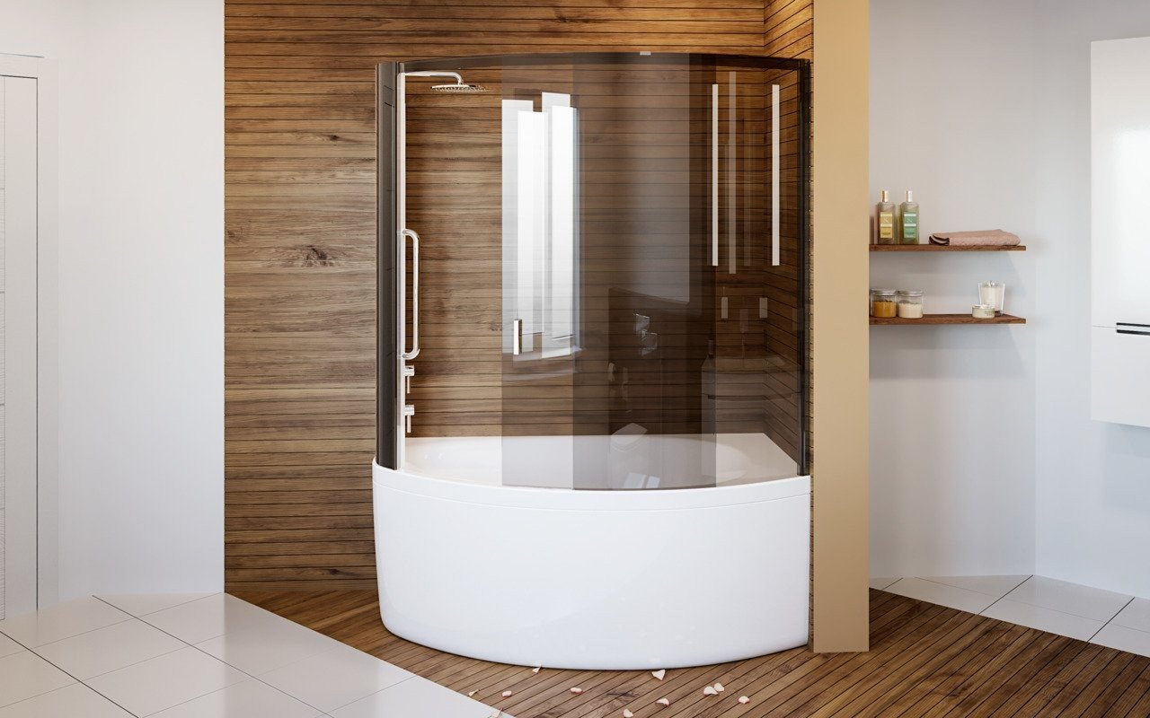 Anette C L Shower Tinted Curved Glass Shower Cabin 3 (web)