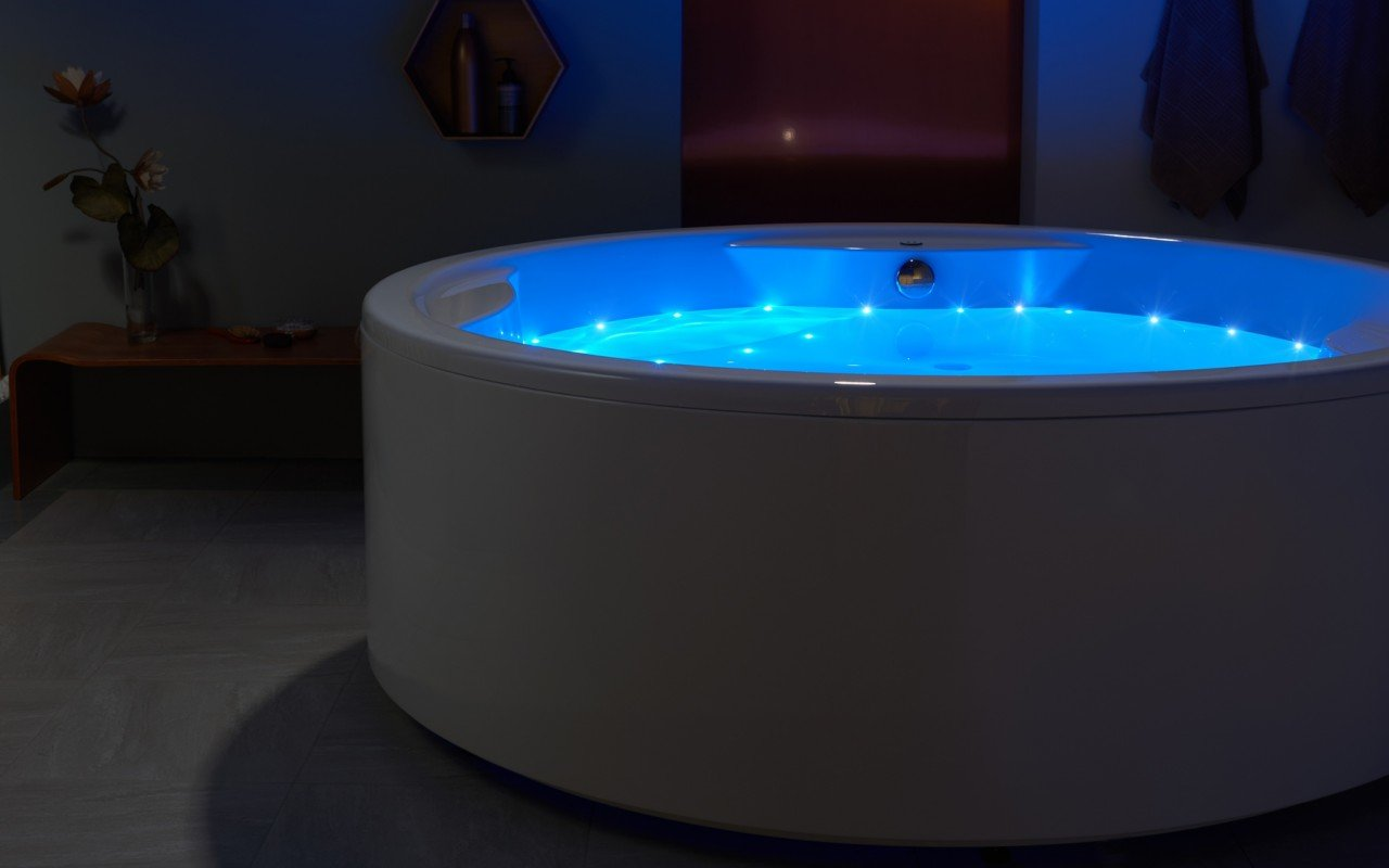 Aquatica Allegra Wht Freestanding Relax Air Massage Bathtub web(11)