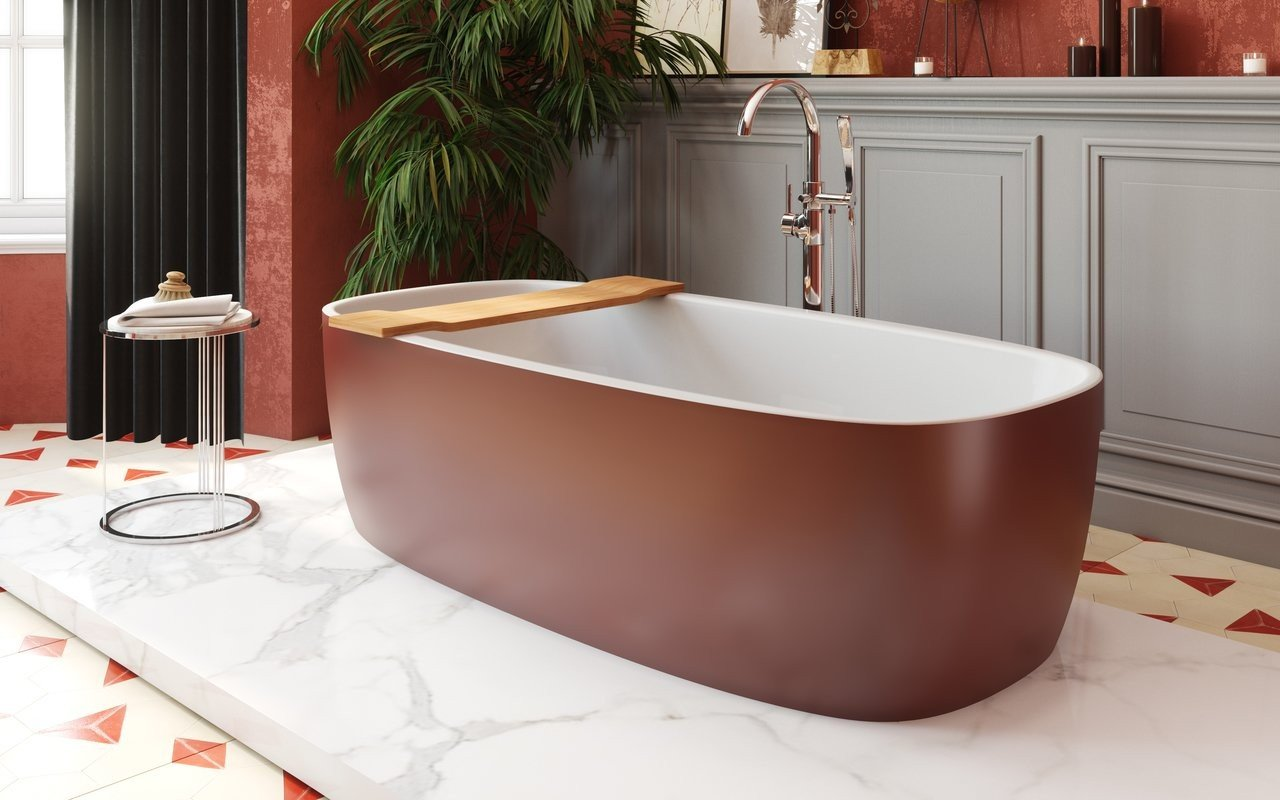 Aquatica Coletta Oxide Red Wht Freestanding Solid Surface Bathtub 02 (web)