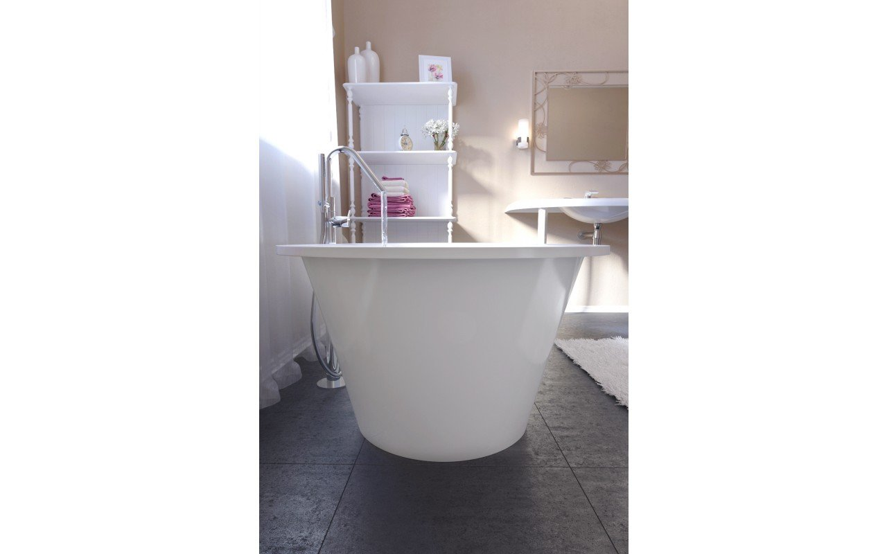 Aquatica Inflection A F Wht Freestanding Stone Bathtub (15 2)