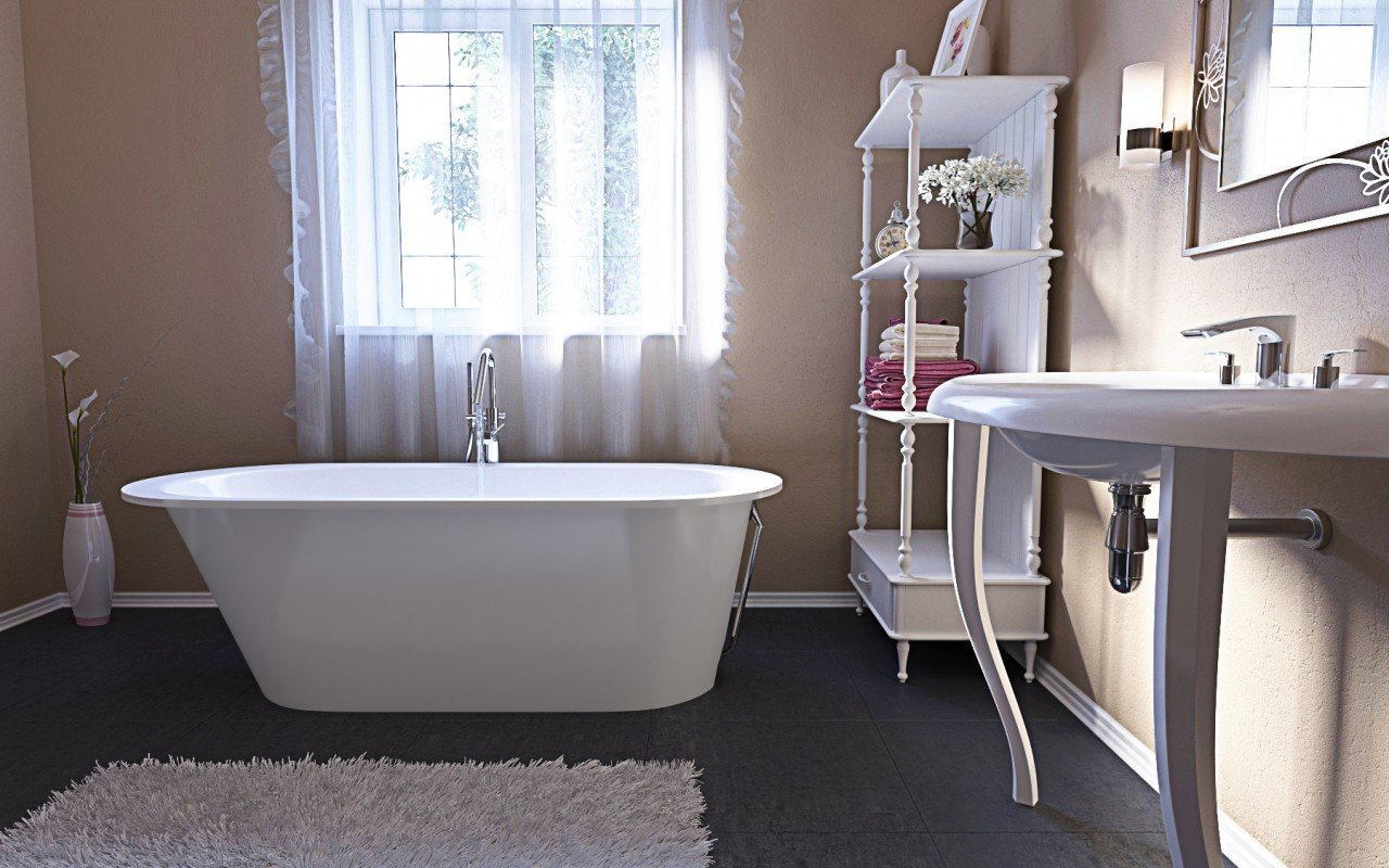 Aquatica Inflection A F Wht Freestanding Stone Bathtub (2)