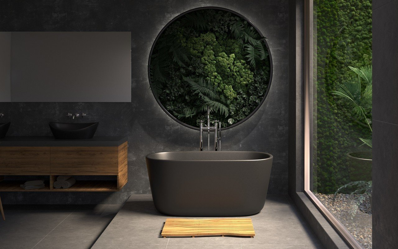 Aquatica Lullaby Blck Mini Freestanding Solid Surface Bathtub 02 (web)
