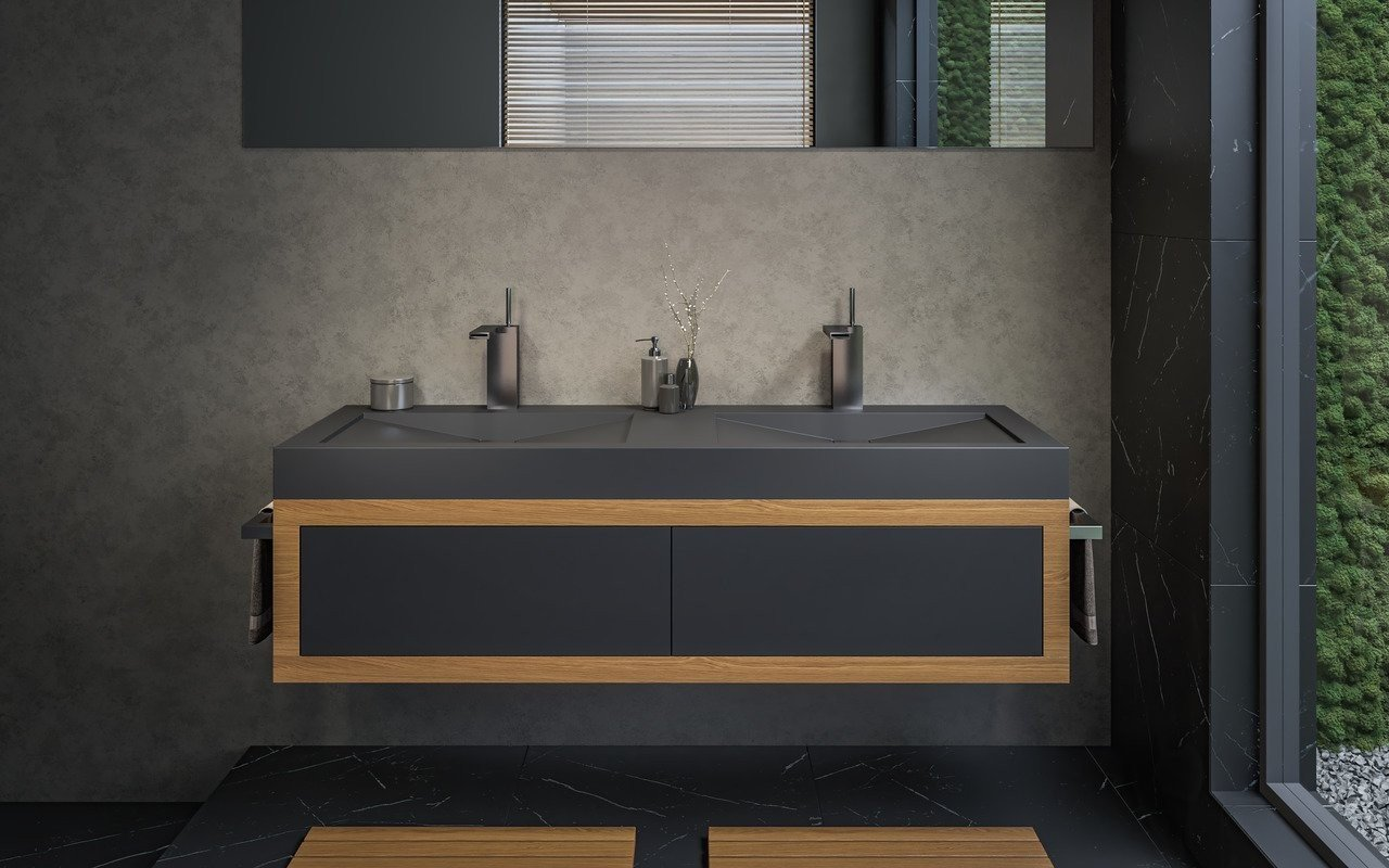 Aquatica Millennium 150 Blck Stone Bathroom Sink 01 (web)