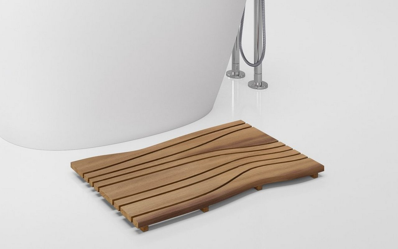 Aquatica Onde Waterproof Iroko Wood Floor Mat 04 (web)