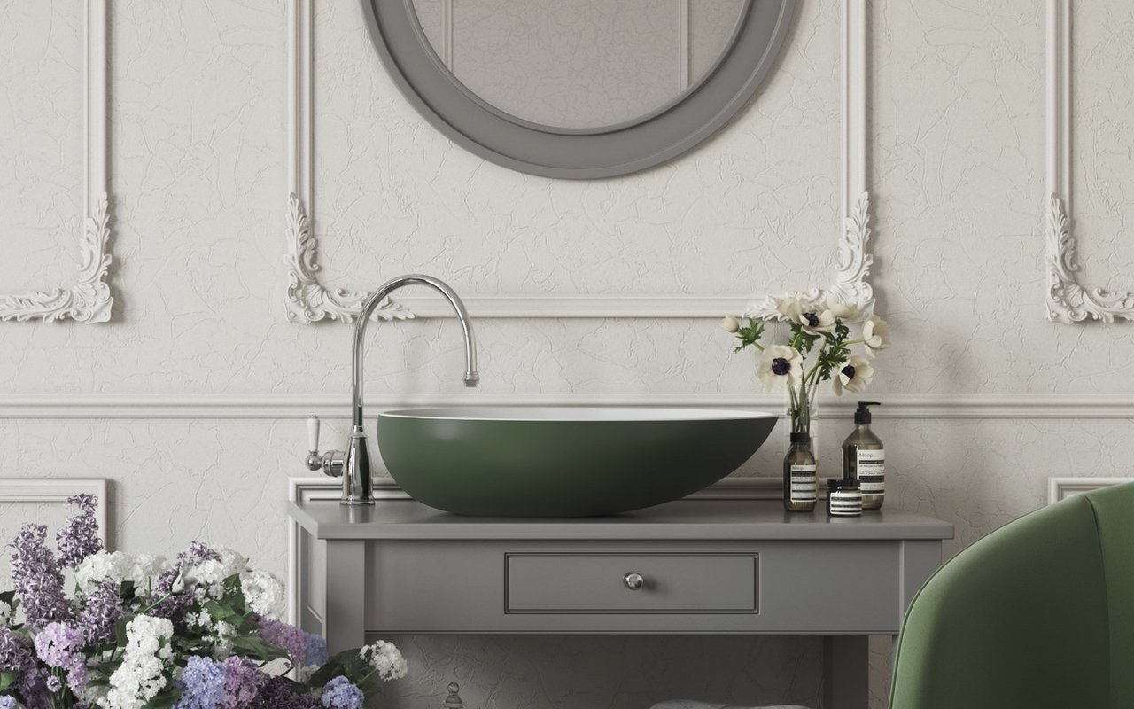 Aquatica Spoon 2 Moss Green Wht Stone Bathroom Vessel Sink 01 (web)