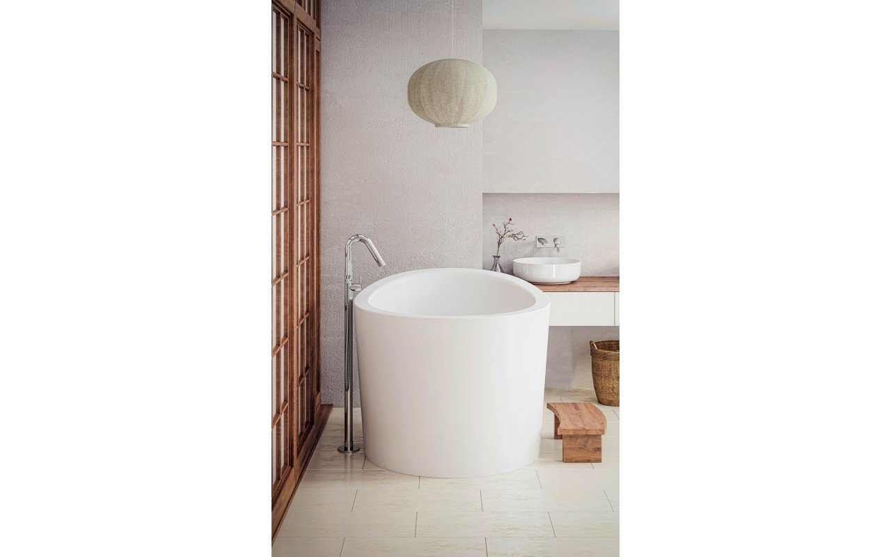Aquatica True Ofuro Mini Freestanding Stone Japanese Soaking Bathtub web (2)