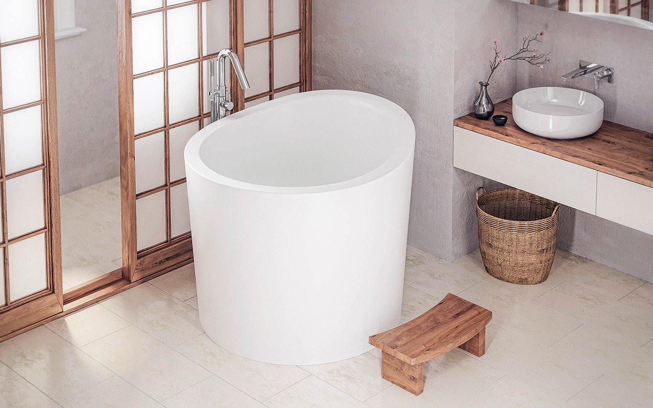 Aquatica True Ofuro Mini Freestanding Stone Japanese Soaking Bathtub web (3)
