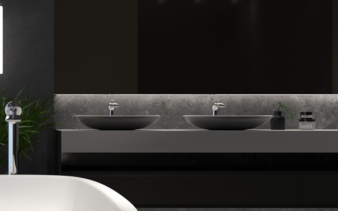 Aquatica coletta gunmetal wht solid surface sink 02