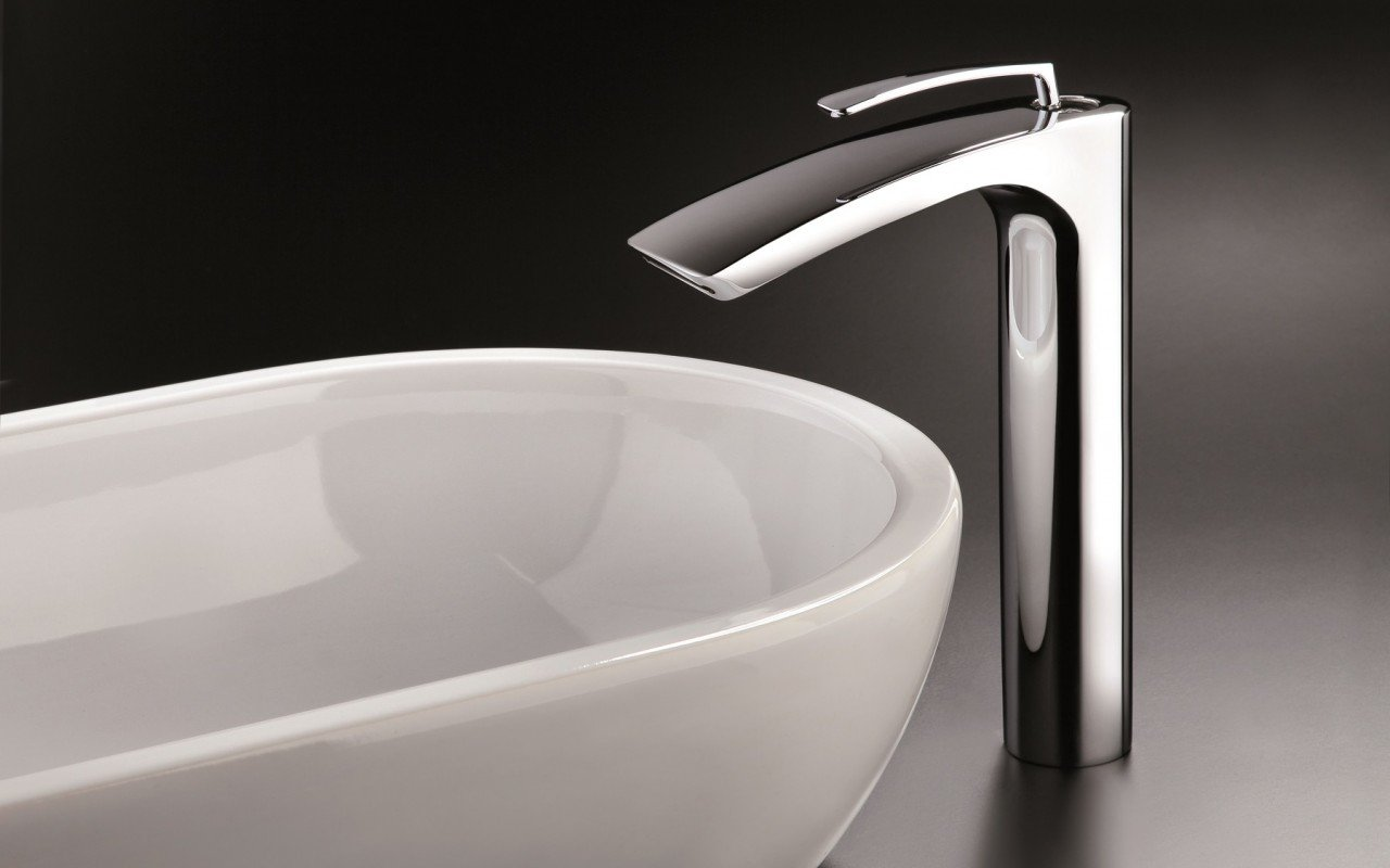 Bollicine 228 Sink Faucet Chrome by Aquatica web (1)