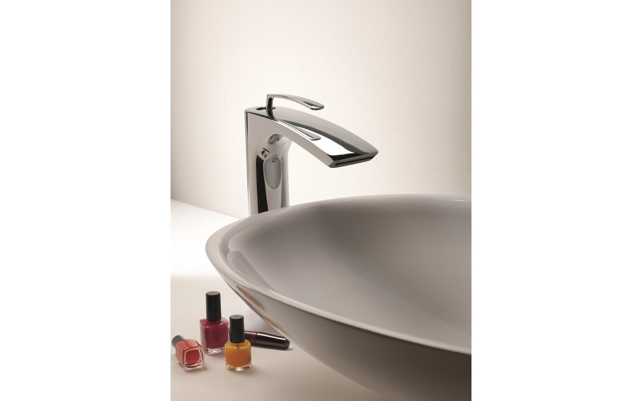 Bollicine 228 Sink Faucet Chrome by Aquatica web (2)