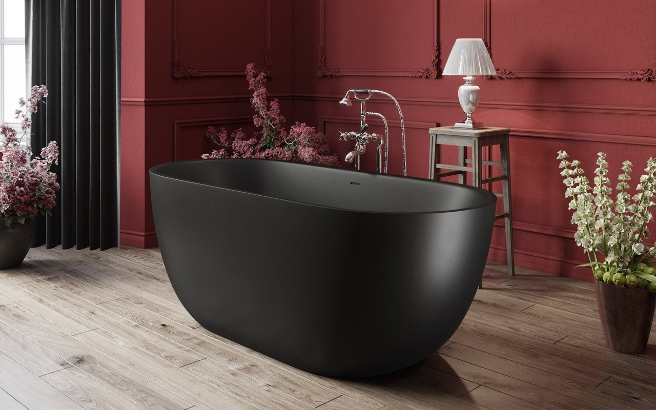 Corelia Black Freestanding Stone Bathtub 2 (web)