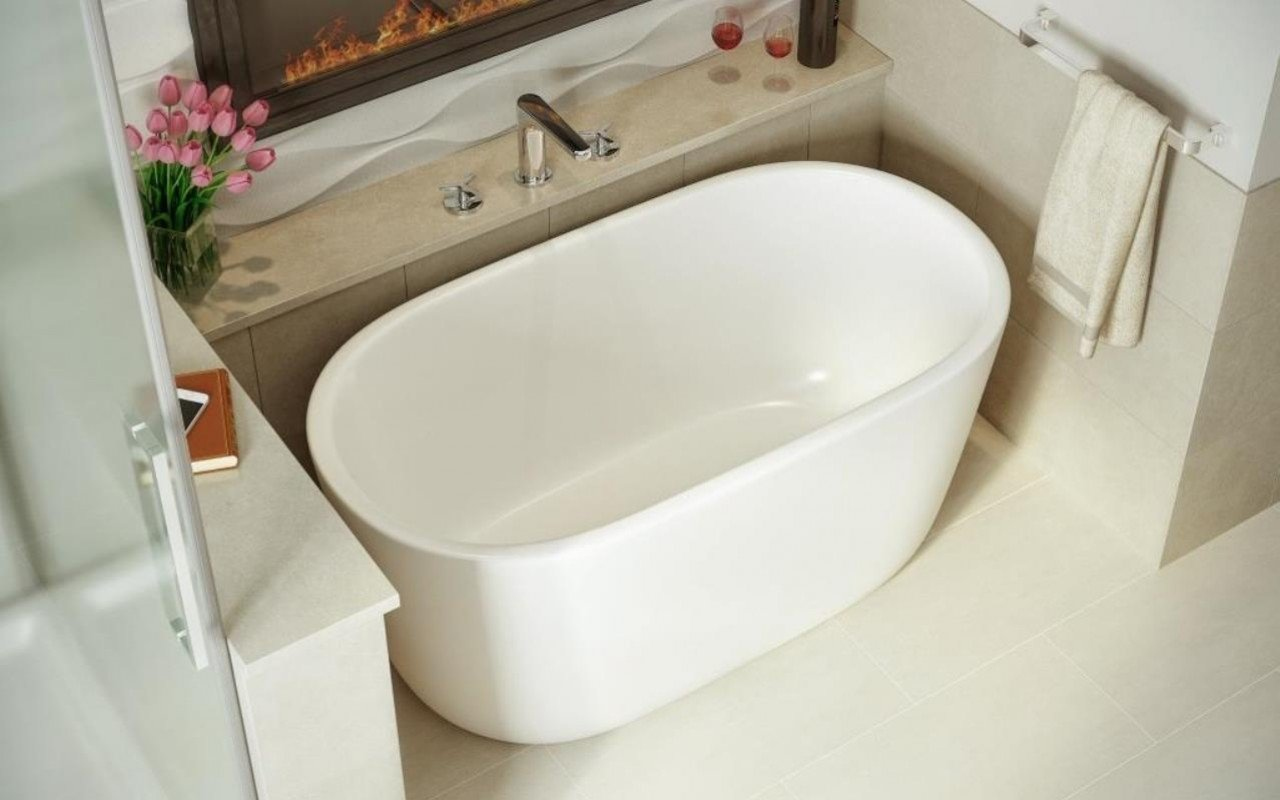 Lullaby Nano Wht Small Freestanding Solid Surface Bathtub by Aquatica web (4)