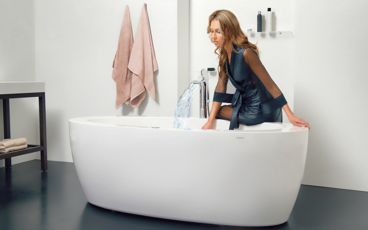 Purescape 174B Wht Relax Air Massage Bathtub DSC2746