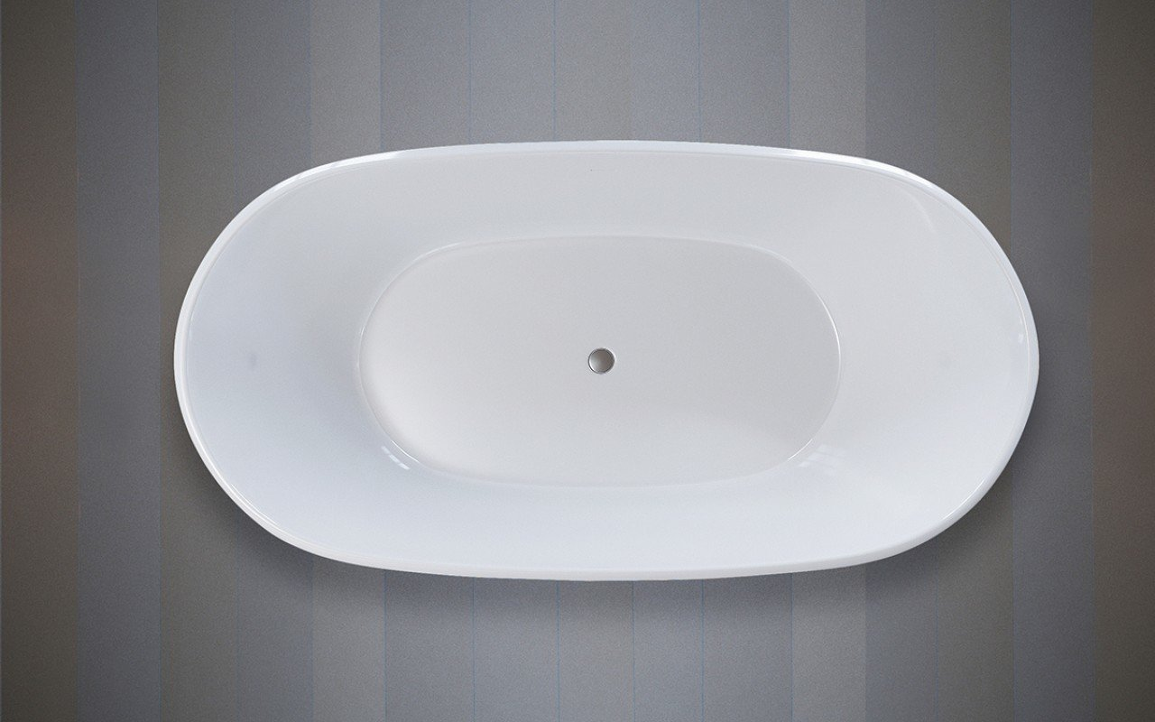 Purescape 748 Glossy Freestanding Slipper Stone Bathtub 07 web