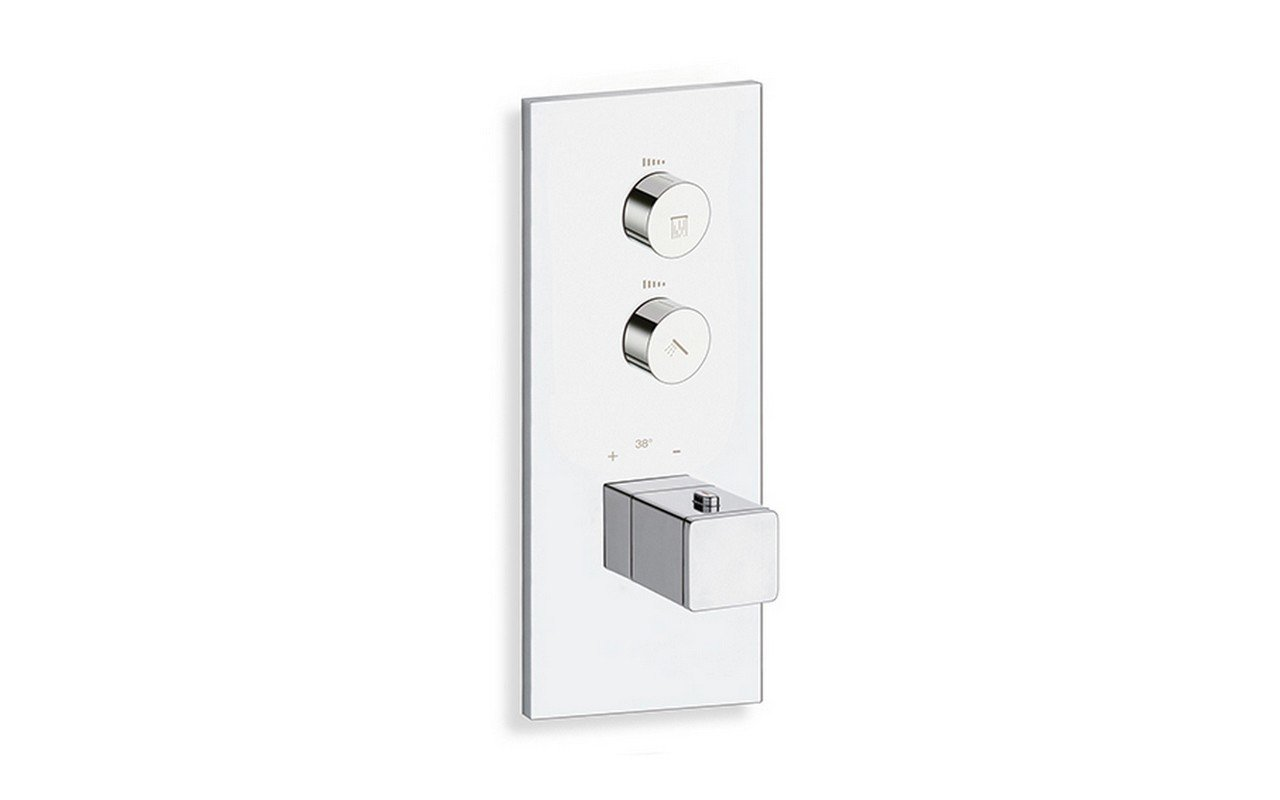 SQ 722 V Throughput Thermostatic Valve with 2 Independent Volume Controls