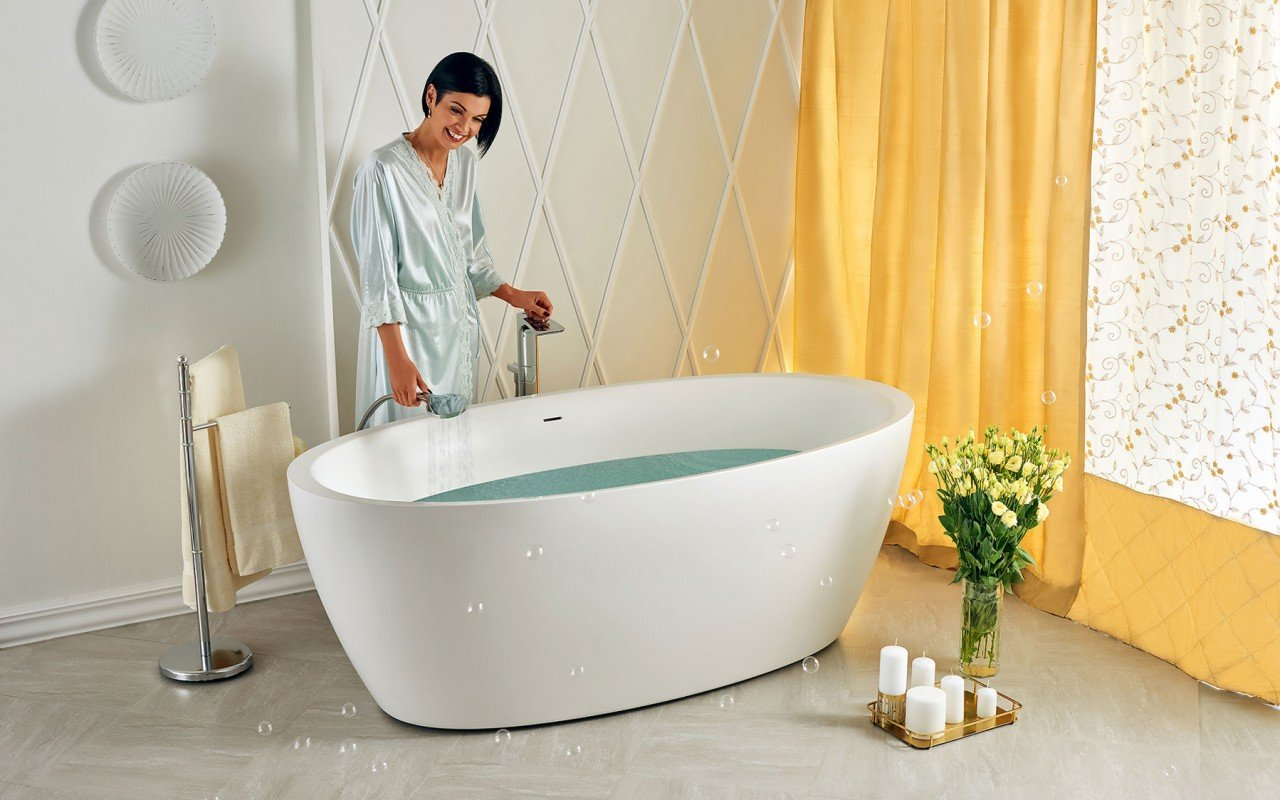Sensuality wht freestanding oval solid surface bathtub by Aquatica 06 04 16––15 57 39 WEB