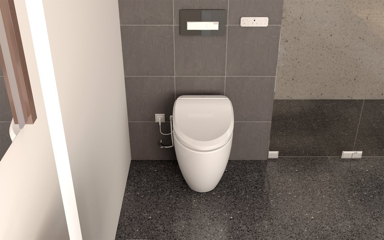 USPA 7035 Comfort Hygienic Electronic Bidet Seat with Remotely Controlled Wash Function (4) (web)