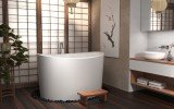 True Ofuro Duo Freestanding Stone Japanese Soaking Bathtub 02 (web)