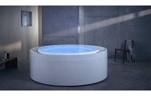 Aquatica Fusion Rondo HydroRelax Jetted OutdoorIndoor Bathtub US version 240V 60Hz 01 (web)