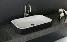 Black And White Vessel Sink picture № 5