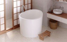 Aquatica true ofuro mini tranquility heating freestanding stone japanese bathtub international 01 1 (web)