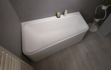 Jane Wht Stone Corner Bathtub 1