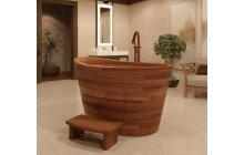 True Ofuro Wooden Freestanding Soaking Bathtub 01 (web)