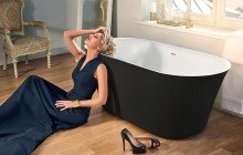 Tulip Blck Wht Freestanding Solid Surface Bathtub 01 (web)