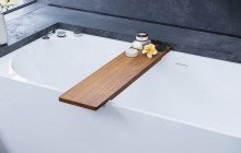 Universal Waterproof Iroko Wood Bathtub Tray 04 (web)