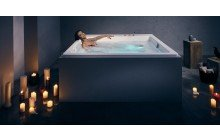 Lacus Wht Spa Drop In Jetted Bathtub 230V 50 60Hz USA International 01