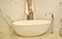 MARINA 121 OCEAN REEF CLUB Spoon 2 (Purescape 204AM) Egg Shaped Freestanding Solid Surface Bathtub icon 215x134 (web)