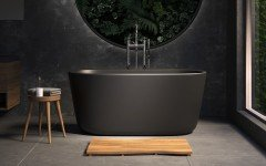 Aquatica Lullaby Blck Mini Freestanding Solid Surface Bathtub 01 (web)