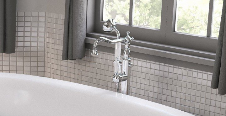 Aquatica caesar faucet floor mounted tub filler chrome 03 1 (web)