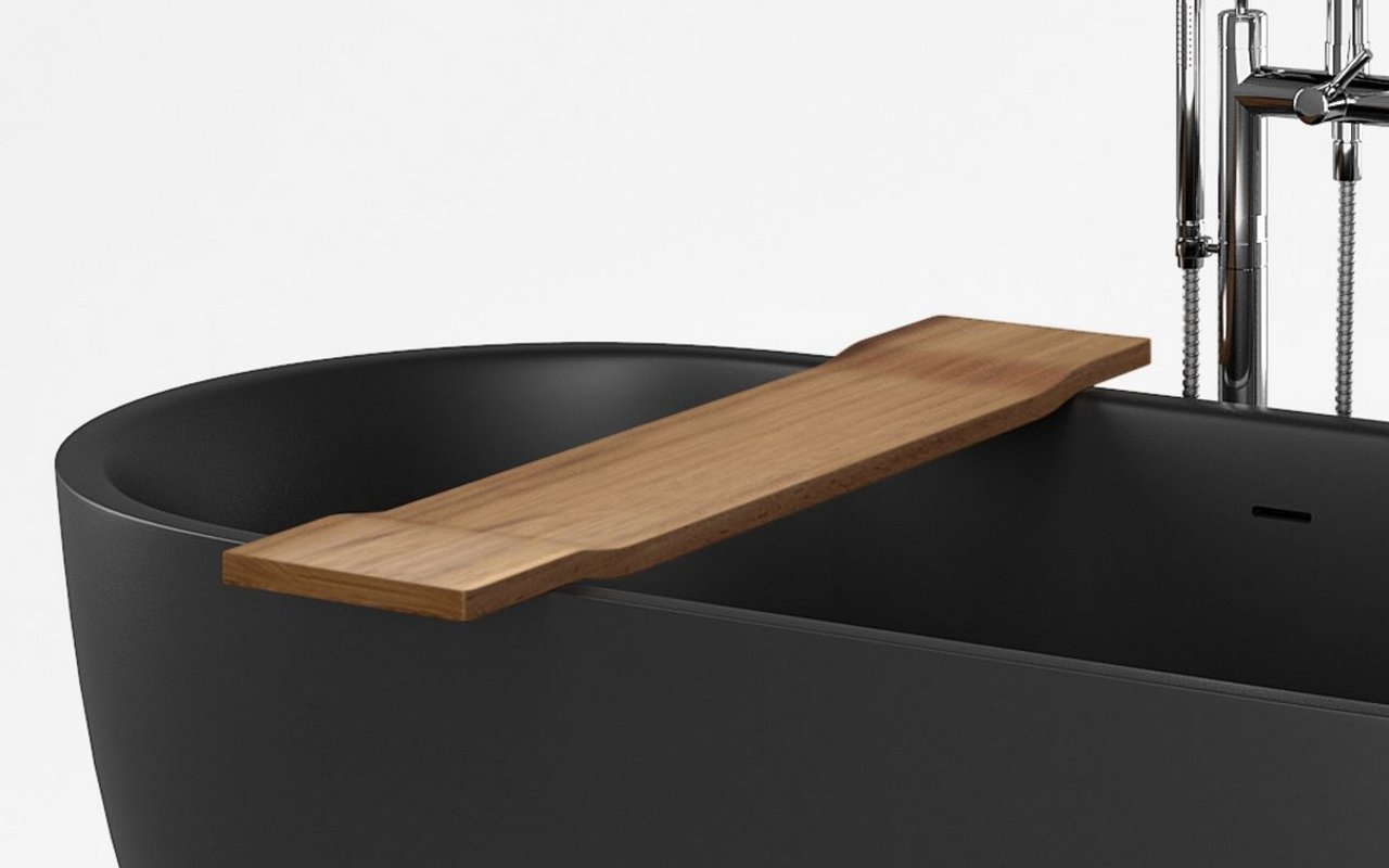 Tidal Waterproof Iroko Bathtub Tray on Corelia 01 (web)