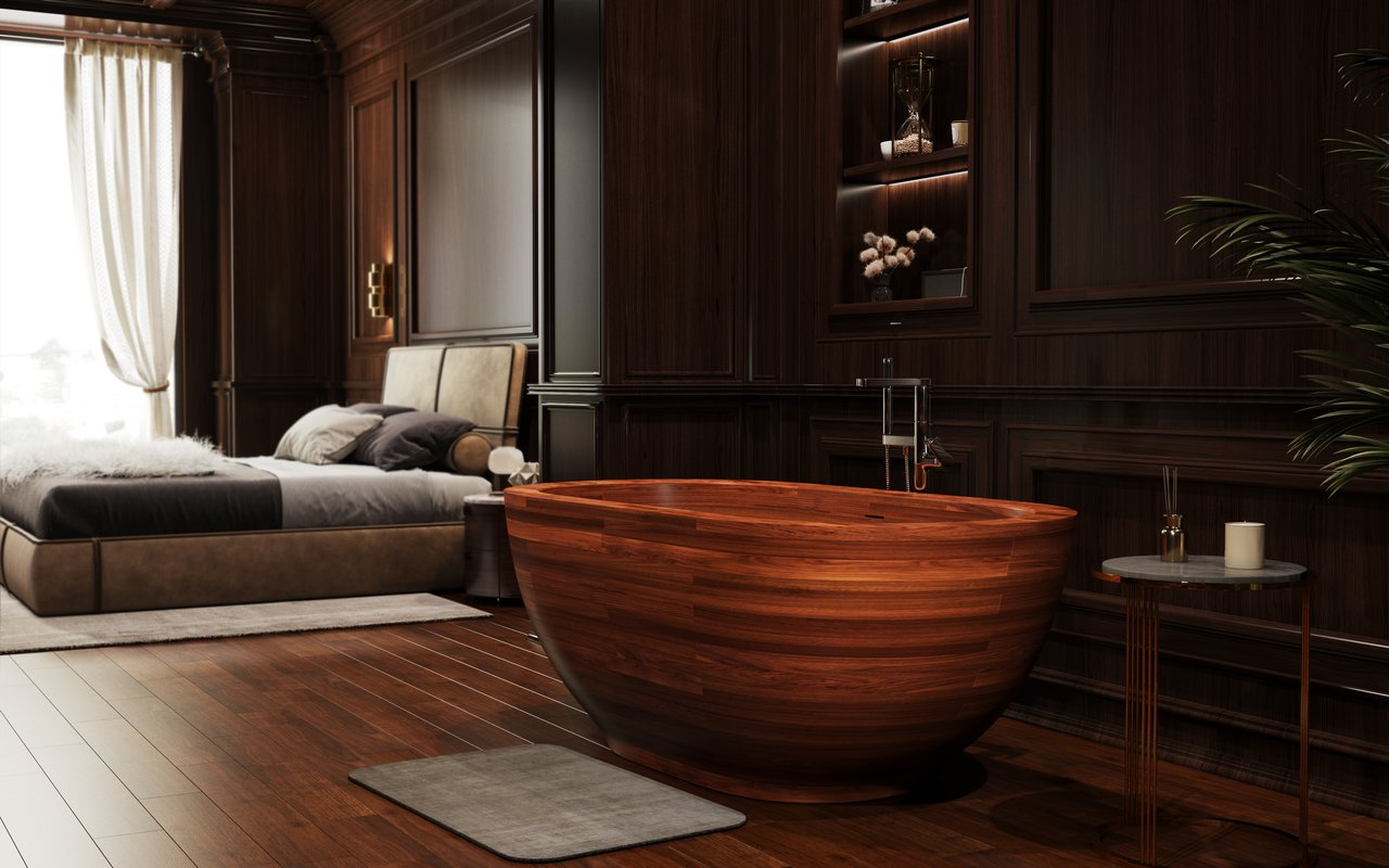 Aquatica karolina wooden freestanding japanese soaking bathtub 02 (web)