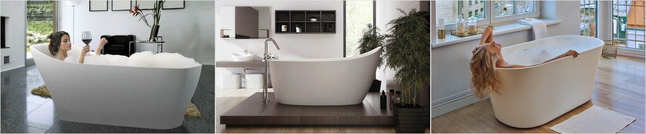Tulip Emmanuelle 2 freestanding solid surface bathtub (web)